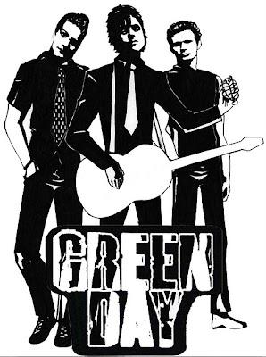 Desenho do Green Day