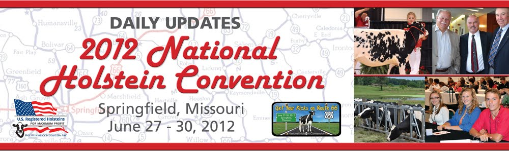 2012 National Holstein Convention - Daily Updates