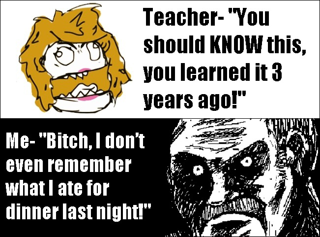 Scumbag Teacher vs. Epic Student Answer