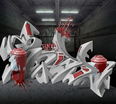 3D Graffiti 