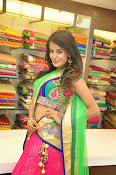 Anukruthi Glam pics in half saree-thumbnail-8