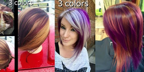 Hot New Hair Coloring Technique Pinwheel Color
