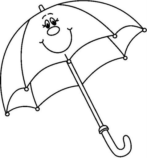 Imagenes de paraguas para imprimir - Imagui