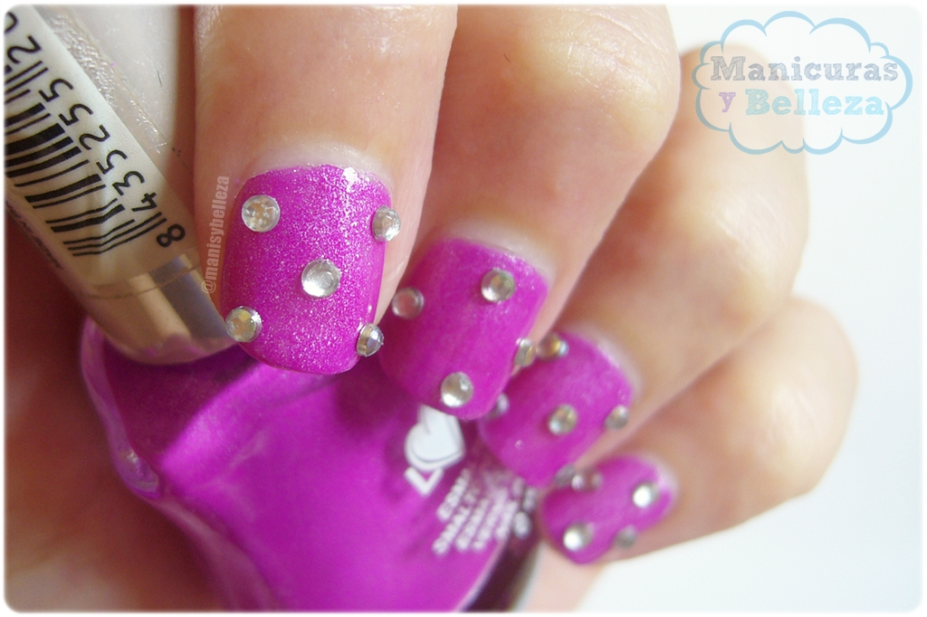 manicura fantasy britney spears nail art easy decoración uñas decoradas 3d nails pink