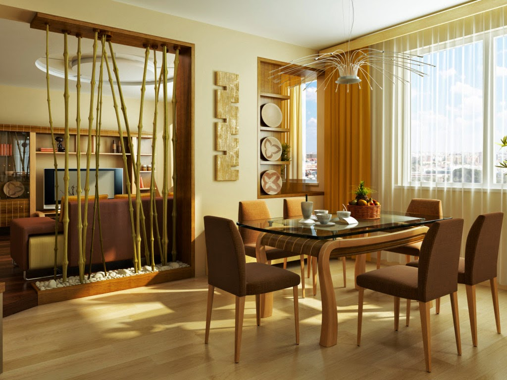 Modern Bamboo Interior Design Ideas