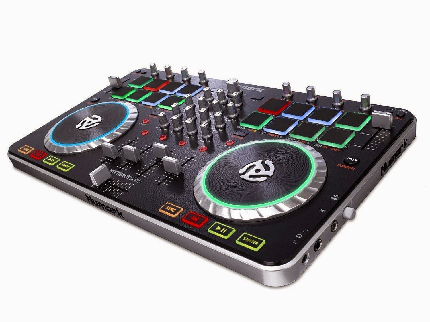 Amazon: Buy Numark Mixtrack Quad Four Deck USB DJ Controller at Rs.19975
