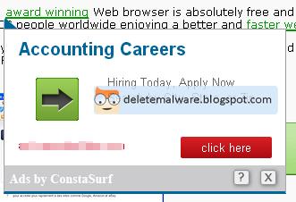 ConstaSurf ads