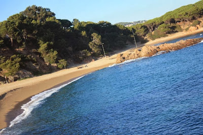 Sa Conca beach in Platja d'Aro