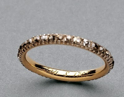 Queen Charlotte's Diamond Keeper Ring