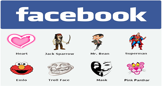 Big Troll Face Emoticons for Facebook Chat