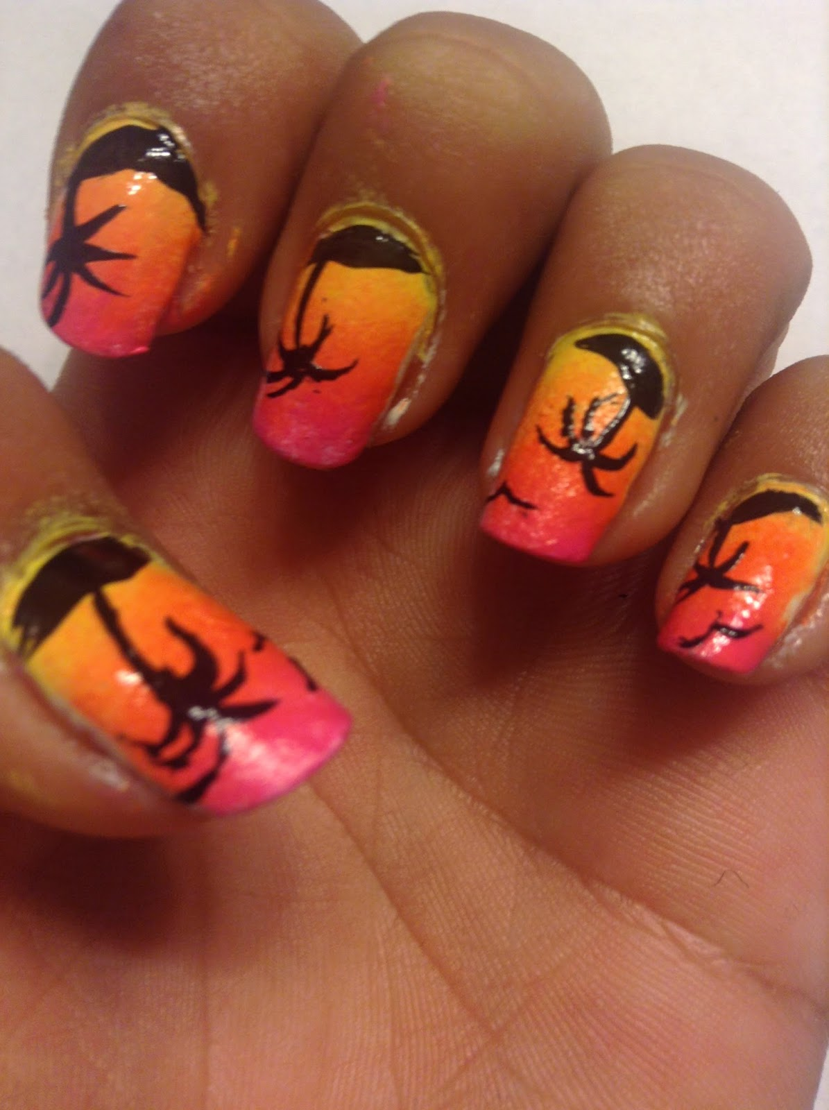 The Biscuit Sisters♥: Tropical nails