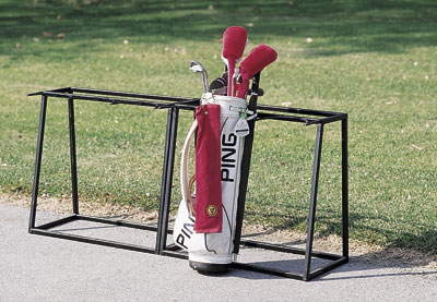 Golf Bag Rack2. Golf Bag Rack