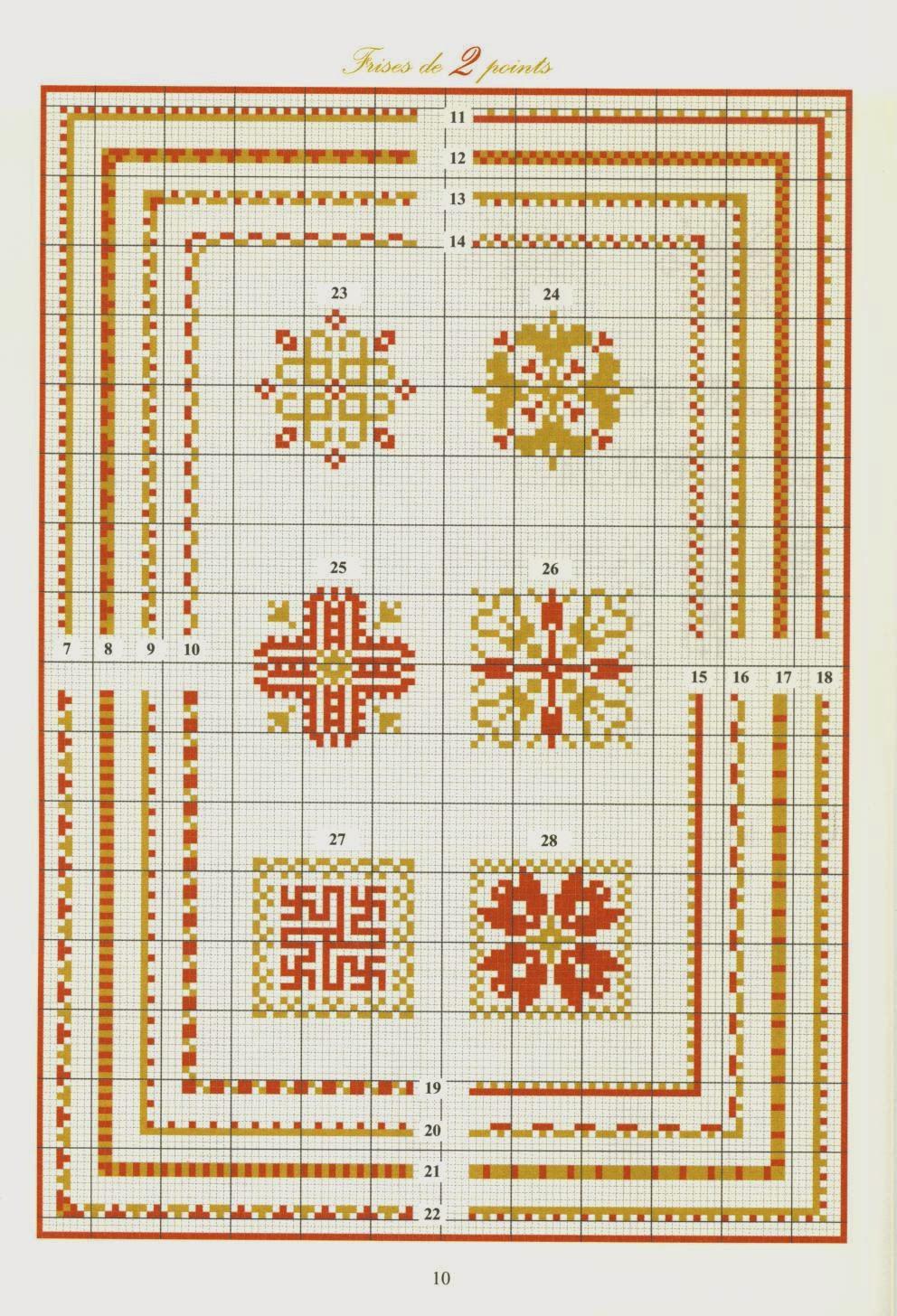 Вышивка крестом орнамент схемы - Поиск в Google вышивка 29