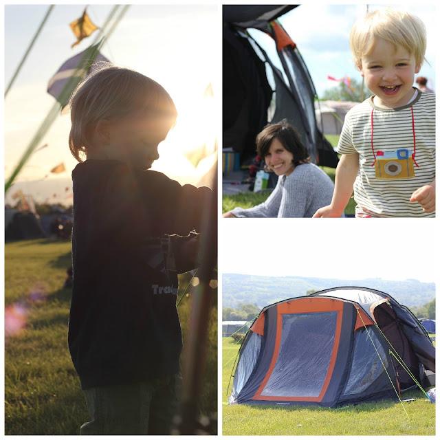 toddler camping
