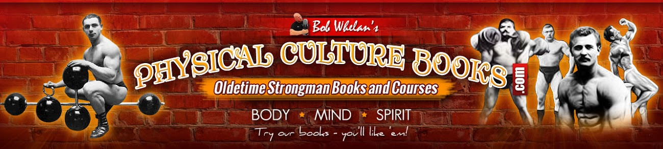 Strongman Books, Iron Game and Weight Training Memoribillia - Physical Culture Books.com