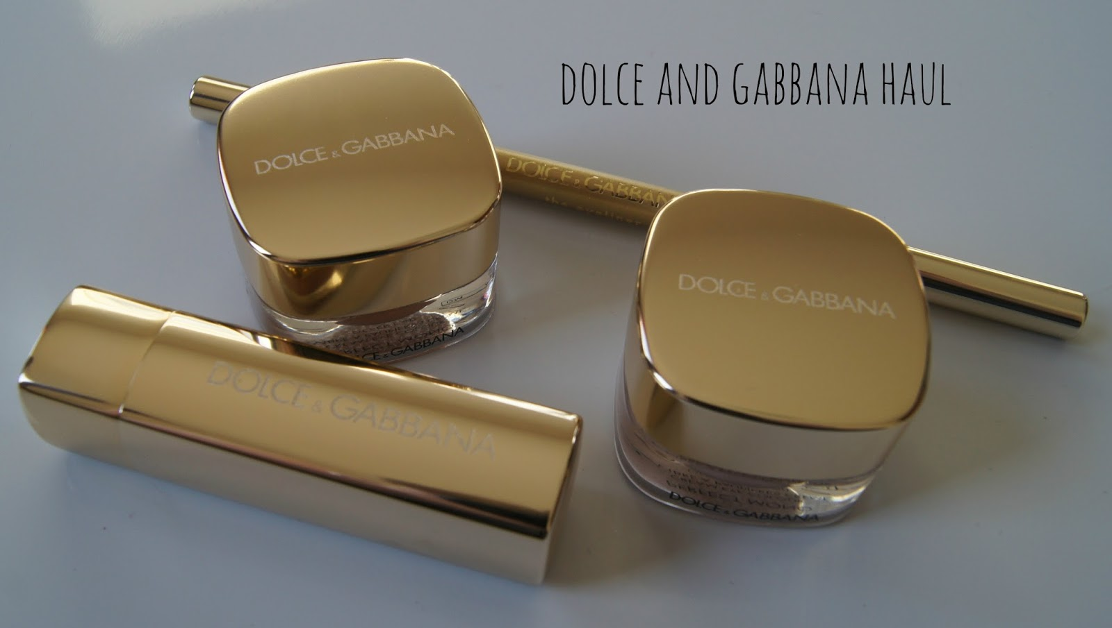 Dolce and Gabbana make up