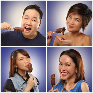 Nestle Crunch Ice Cream bloggers