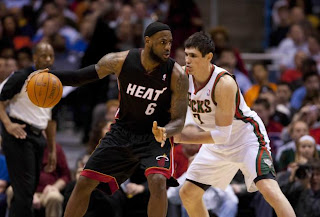 Miami Heat, LA Lakers Win