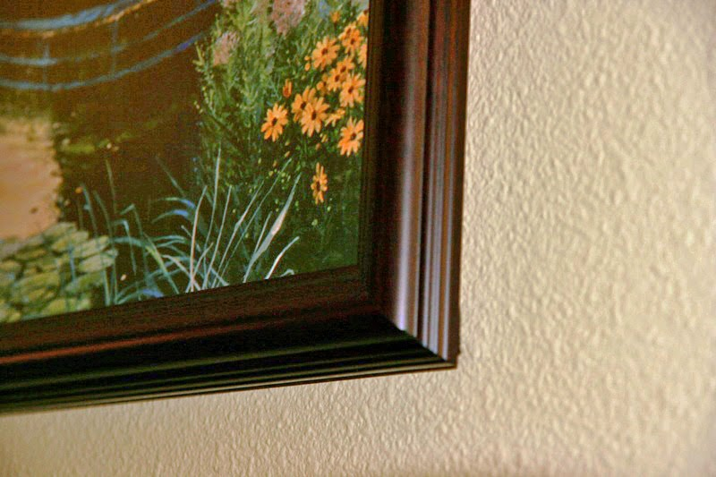 Corner Frame View of Monet Garden III from Fulcrum Gallery