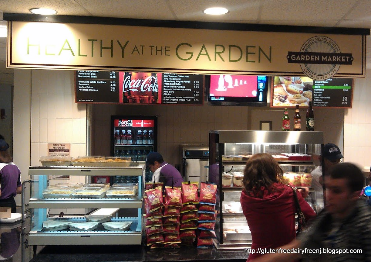 Restaurant Review Healthy At The Garden Gluten Free Concession At Madison Square Garden Nyc