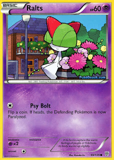 Ralts Plasma Storm Pokemon Card