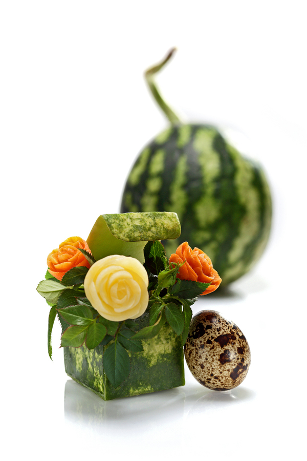 Fresh pics beautiful food carvings by ilian iliev