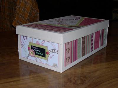 l 39 heure d 39 t une belle boite pour le kit de la future mari e. Black Bedroom Furniture Sets. Home Design Ideas