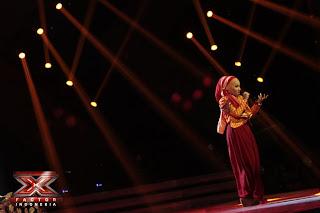 Foto Fatin XFactorID - Gala Show 3 XFactor Indonesia
