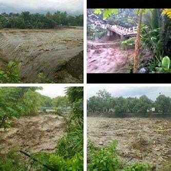 Waspada, Banjir Bandang melanda Desa Bareng Sawahan Nganjuk