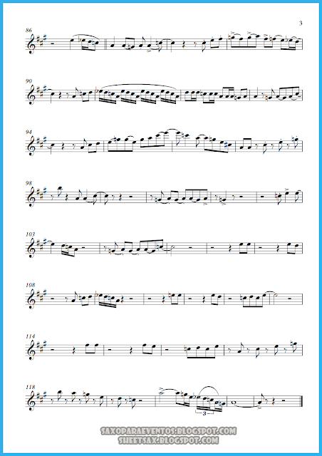 Partitura de I feel good Hoja 3