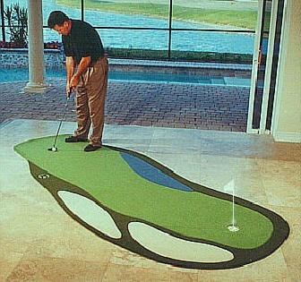 The Original Steve LaPorte Indoor Putting Greens