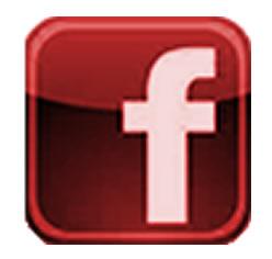 Logotipo do Facebook Vermelho