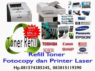 Toner Refill Fotocopy dan Refill Toner Printer Laser
