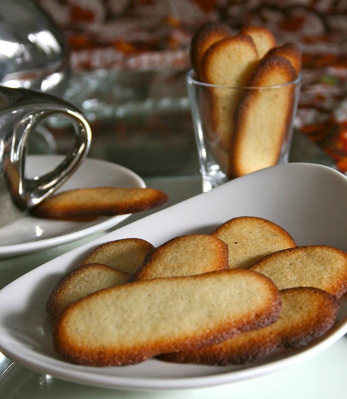 Langues de chat la vanille blogs de cuisine - Langue de chat cuisine ...