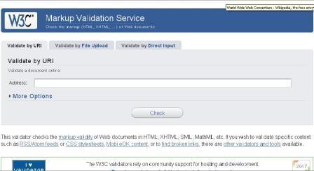 validator world wide web consortium