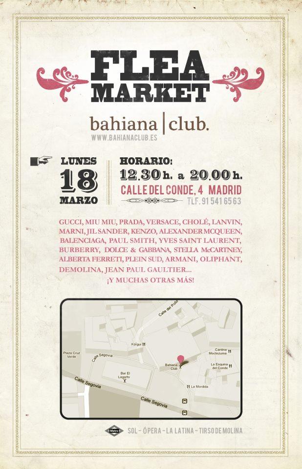 Flea Market Bahiana Club Lujo Vintage