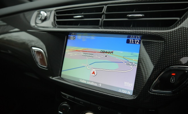 Citroen DS3 dashboard