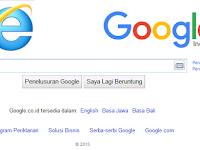 Mengubah Halaman Awal Browser Internet Explorer menjadi Google Indonesia