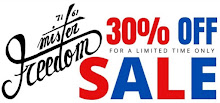 Mister Freedom® SALE!