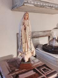 Antik Madonna från Frankrike