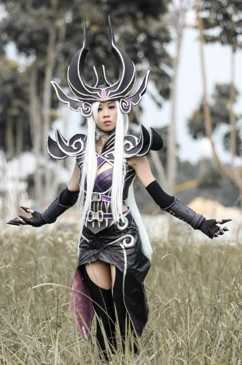 Syndra CosplayLeague Of Legends Syndra Cosplay