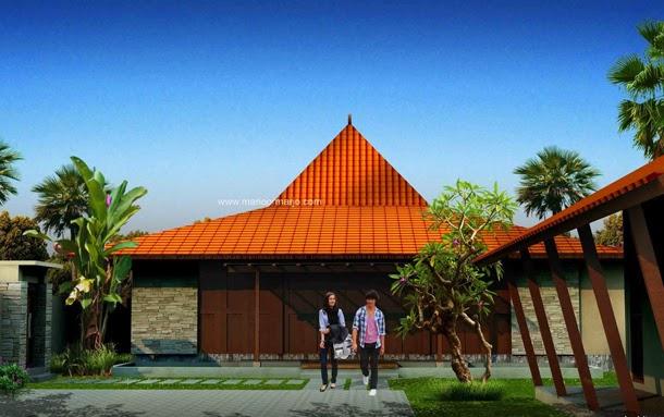 Desain Rumah Joglo Modern Minimalis