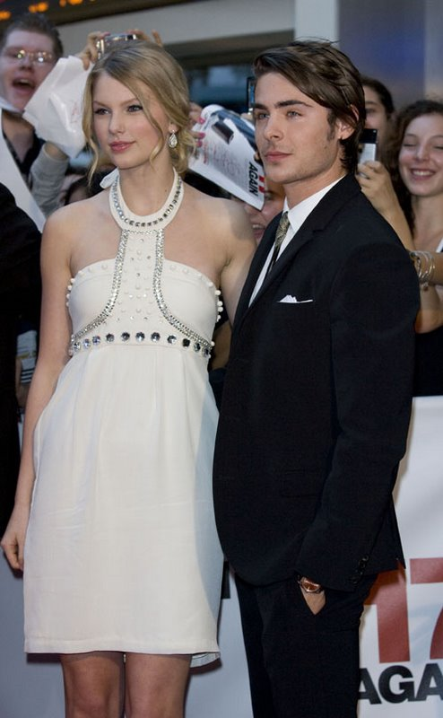 are zac efron and taylor swift dating yahoo Zac efron and taylor swift are making beautiful music together calm down, folks—the two aren't dating in fact, the cute costars, while out promoting their new animated movie, dr seuss' the lorax, on ellen (airing today), insist they are not an item.