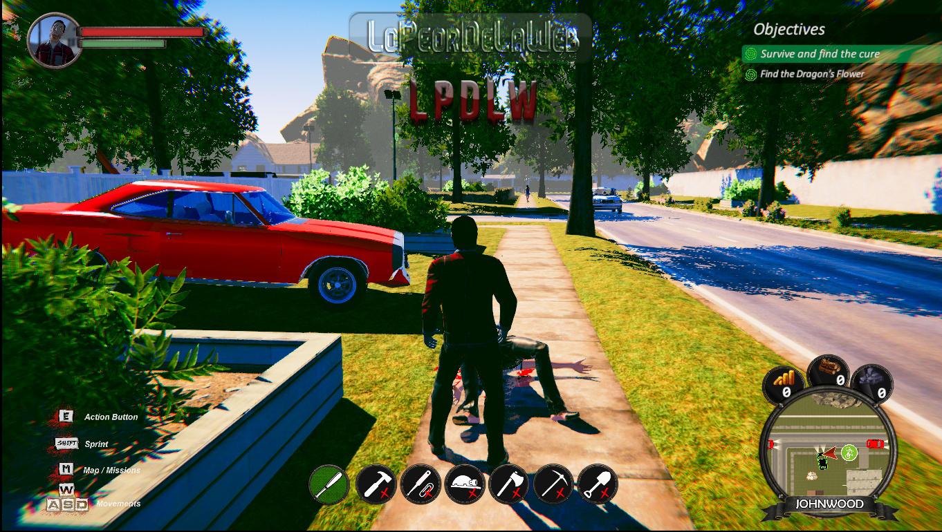 John, The Zombie (PC-GAME)