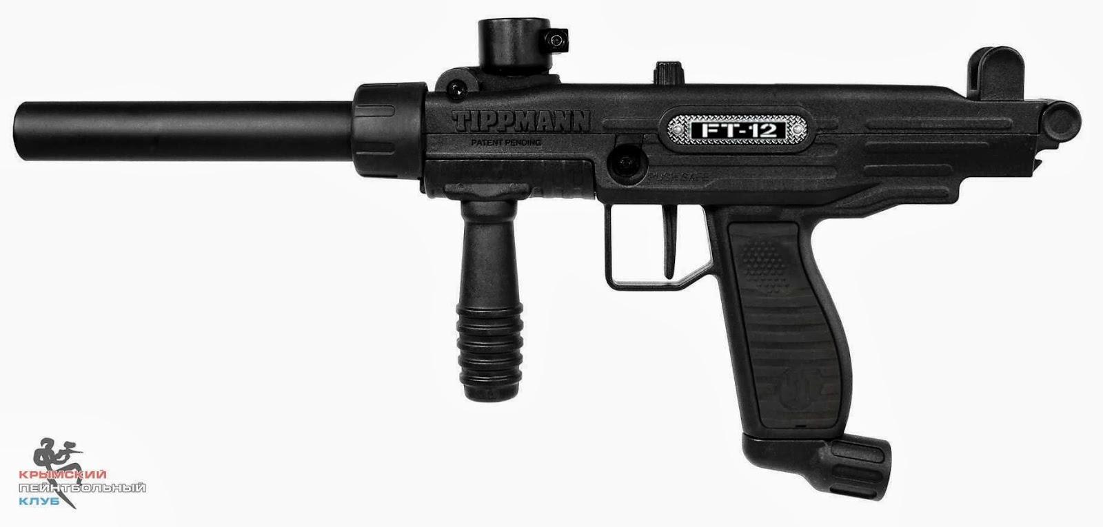 Пейнтбольный маркер Tippmann FT-12.