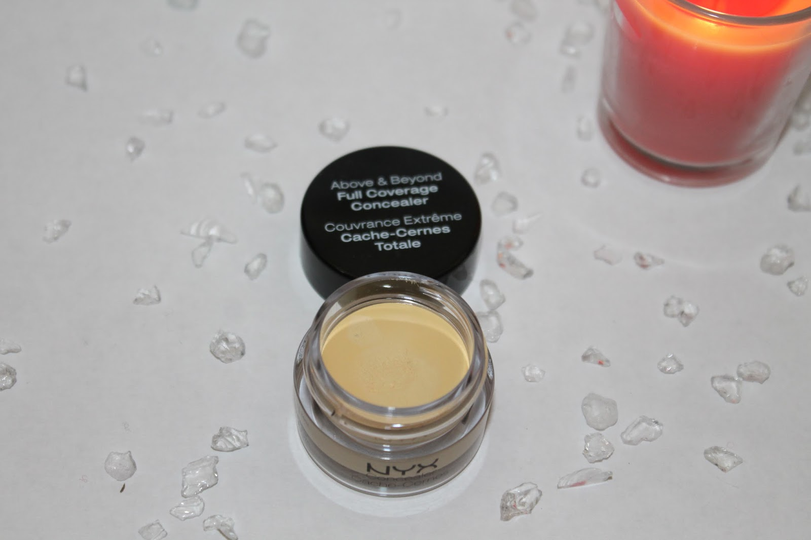 Above and Beyond Concealer Jar - Yellow