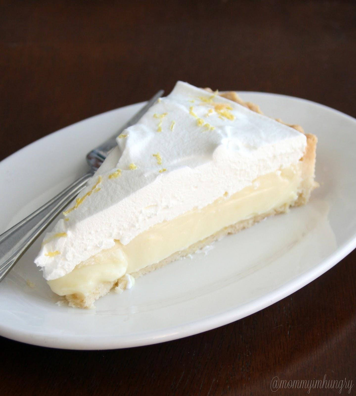 MIH Recipe Blog: Lemon Cream Pie