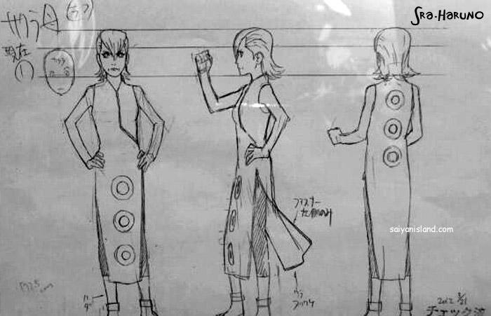 """Novidades """"Road To Ninja""""   (Scans) Mebuki-Drawing"""