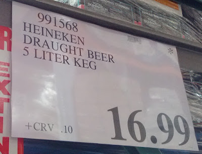 Deal for the Heinekeg at Costco