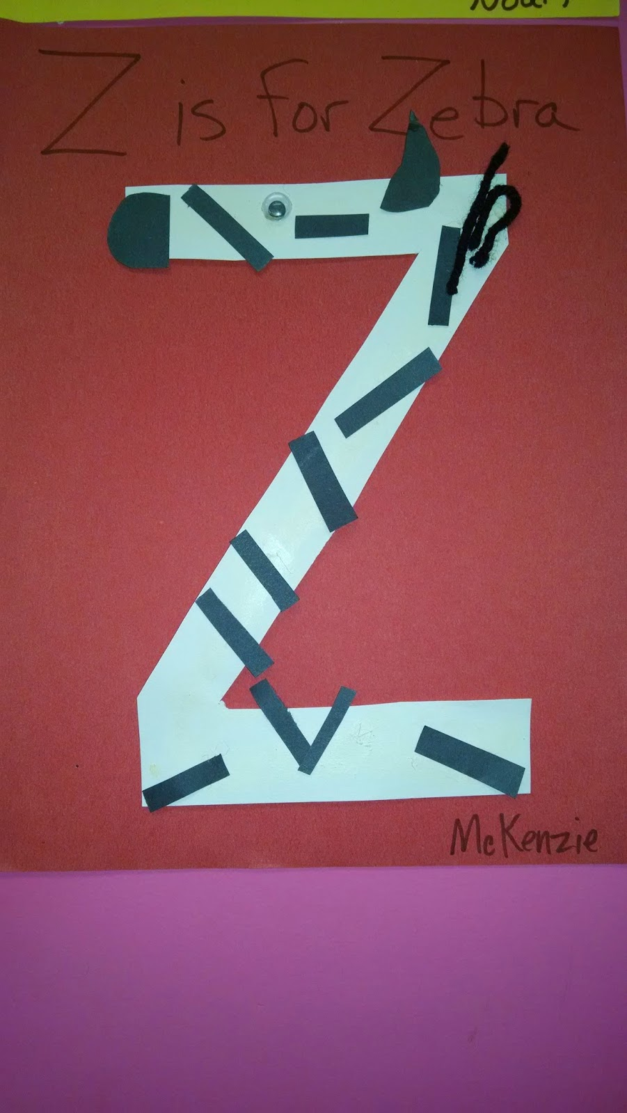 Z is for Zebra childcare